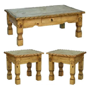 Rope Star Coffee Table Set