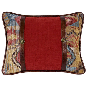 Ruidoso Oblong Pillow with Conchos
