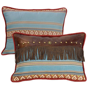 Ruidoso Oblong Pillow with Fringe