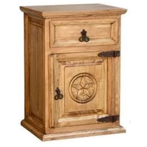 Star 1 Door Tall Nightstand
