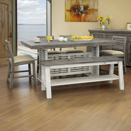Stone Counter Height Table Set