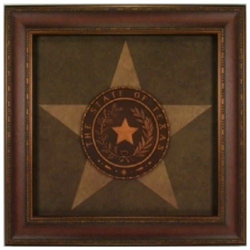 Texas Seal with Star