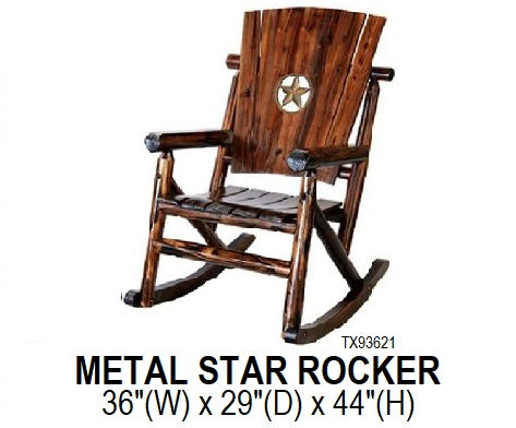 Metal Star Rocker