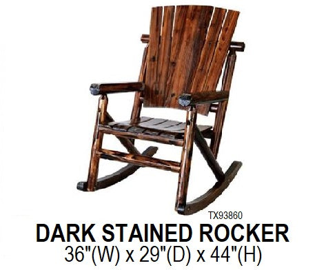 Dark Stained Rocker