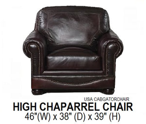 High Chaparral Chair