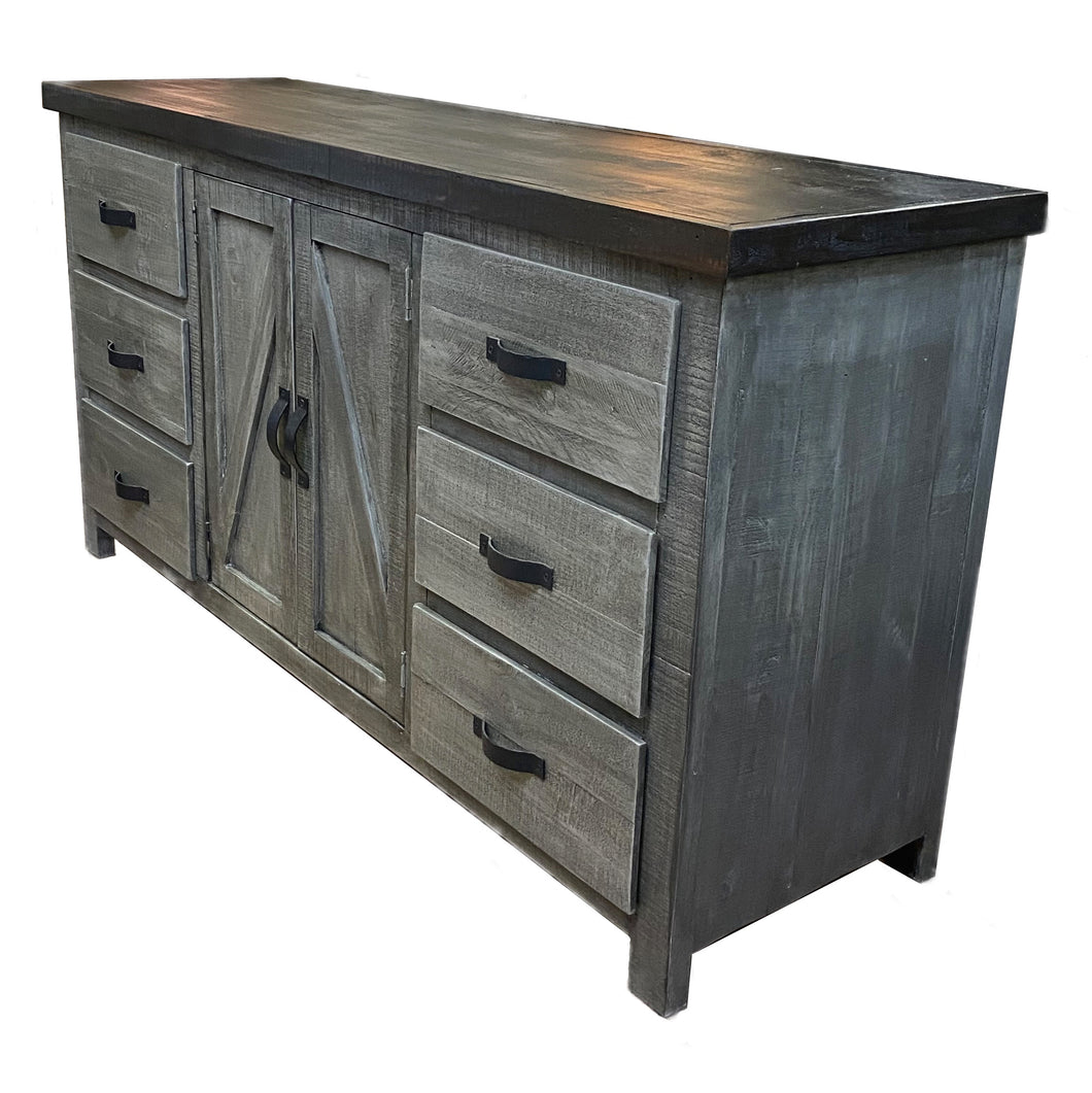 Weathered Farmhouse Dresser