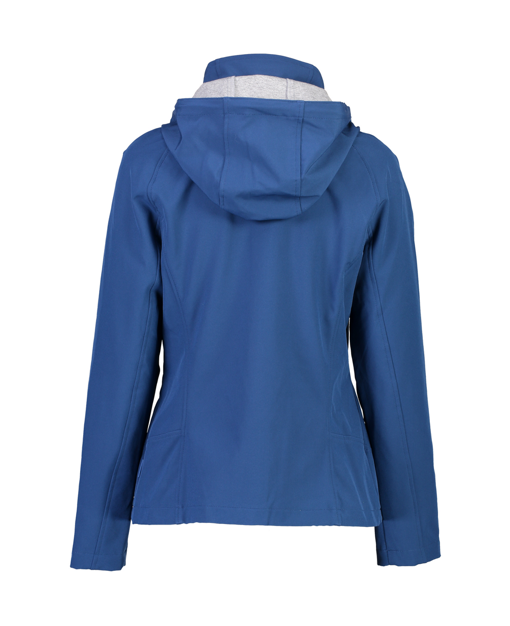 FERN SOFTSHELL JACKET - PETROL BLUE