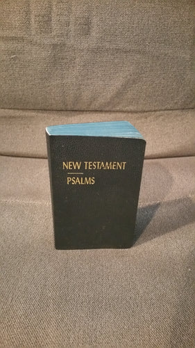 Pocket New Testament Psalms in Black- KJV