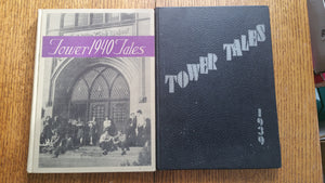 Madison Wisconsin East Side 1939 & 1940 Tower Tales Yearbook