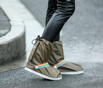 wholesale New fashion 4 colors rain Shoes Covers Waterproof for Women and men