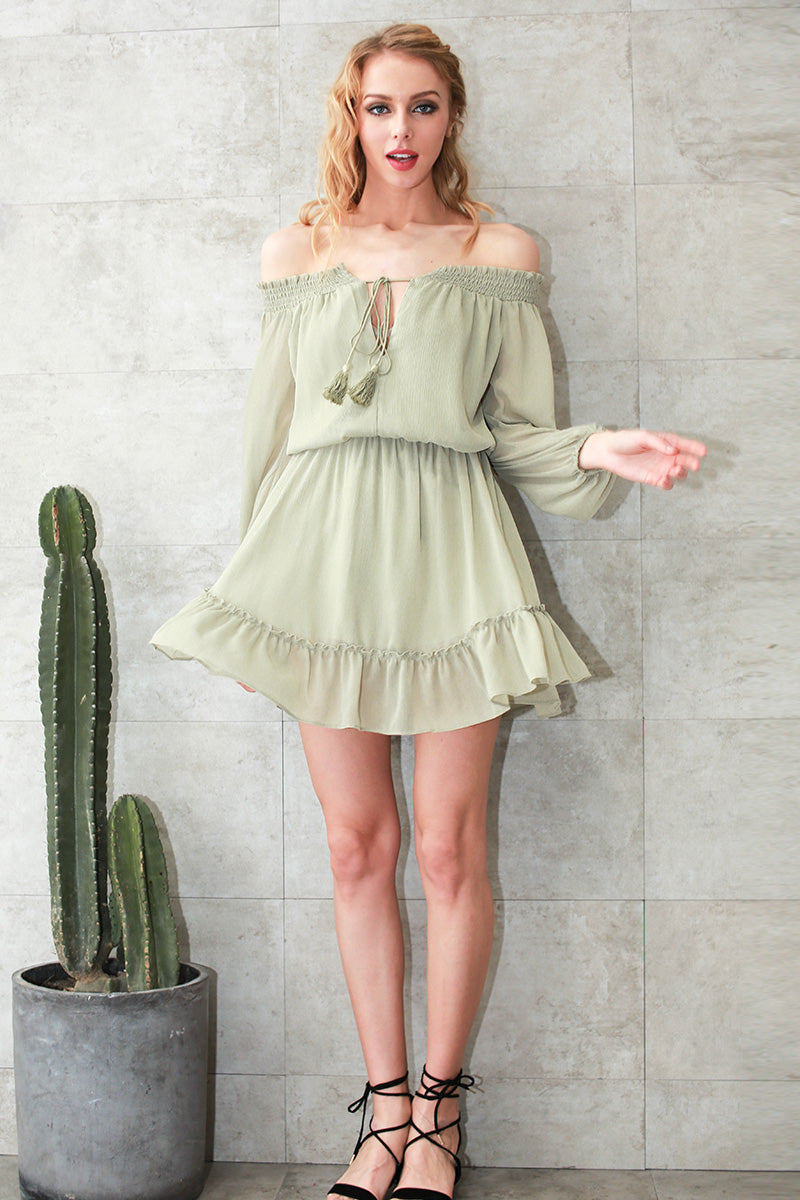 Seriously Flirty Bow-Front Dress