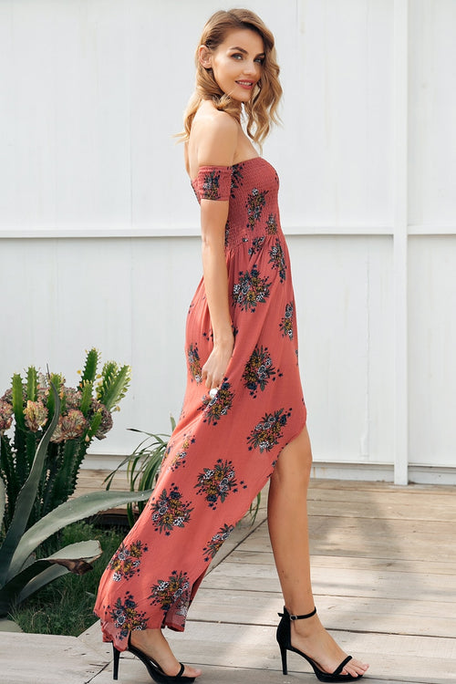 Look Into This Floral Dress