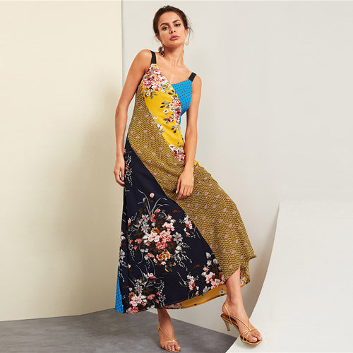 Make Your Way Maxi Dress In Mystic Garden