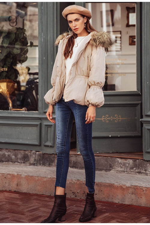 Warm In The Winter Camel Coat