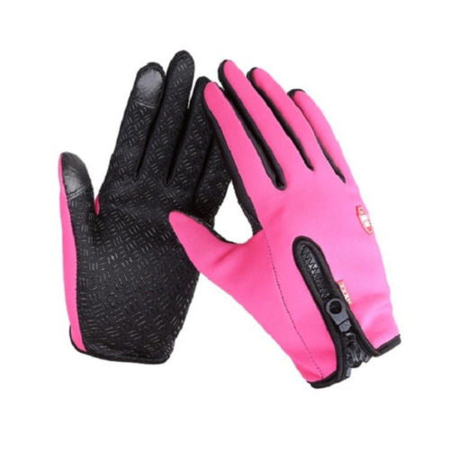 Touch Screen Windproof Outdoor Sport Gloves For Men Women