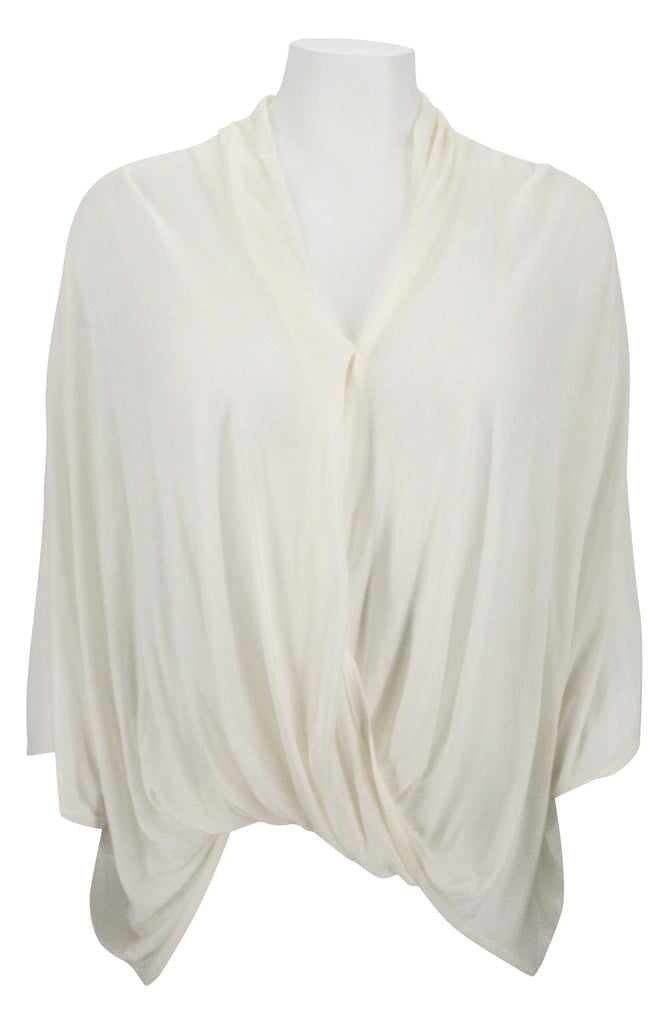 Helmut Lang Dolman Sleeve Wrap Top