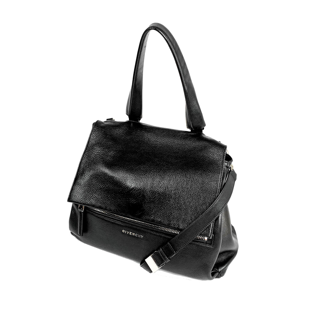 Givenchy pandora flap bag black