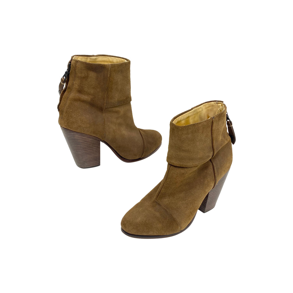 Rag & bone suede booties newbury