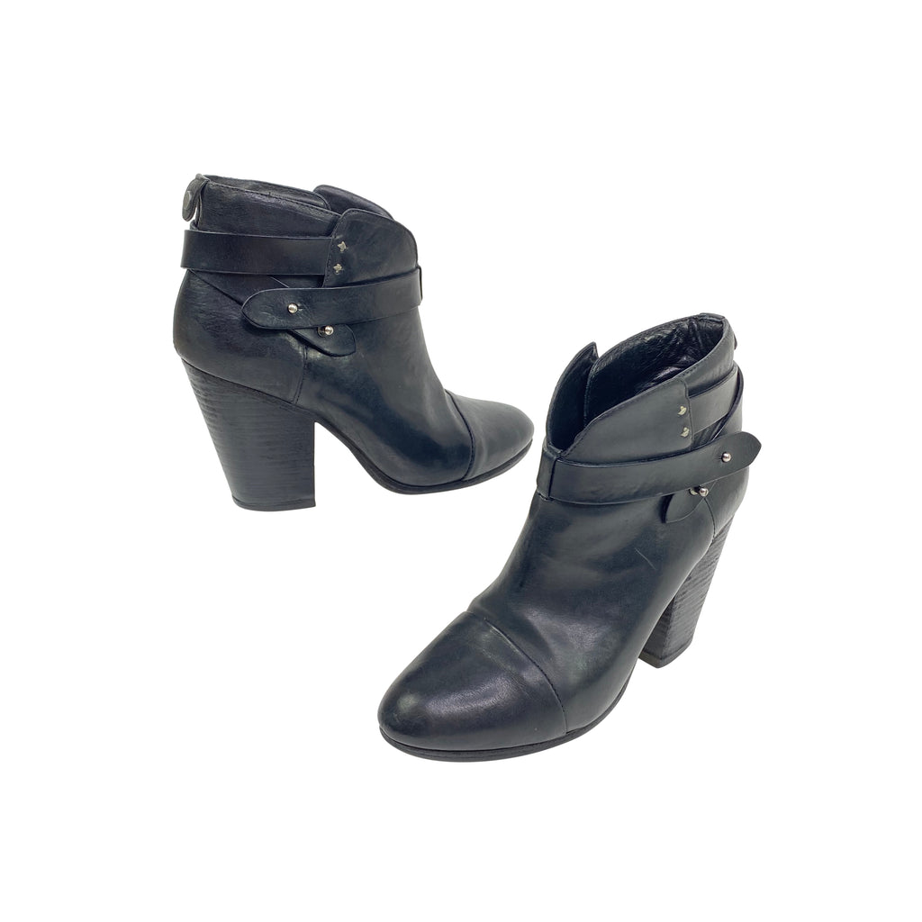 Rag & Bone black booties Harrow