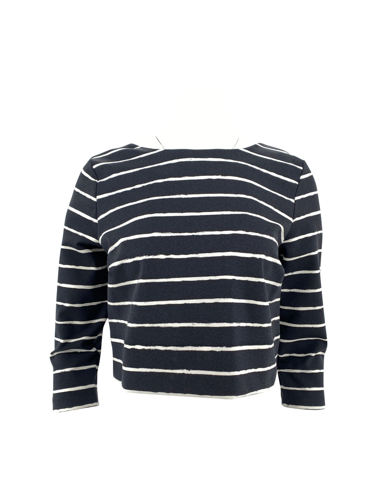Elizabeth & James striped crop top