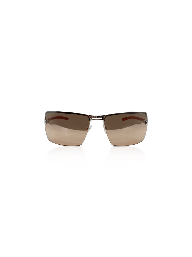 dior sunglasses silver shield