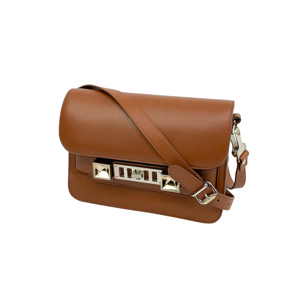 proenza schouder ps11 leather crossbody camel