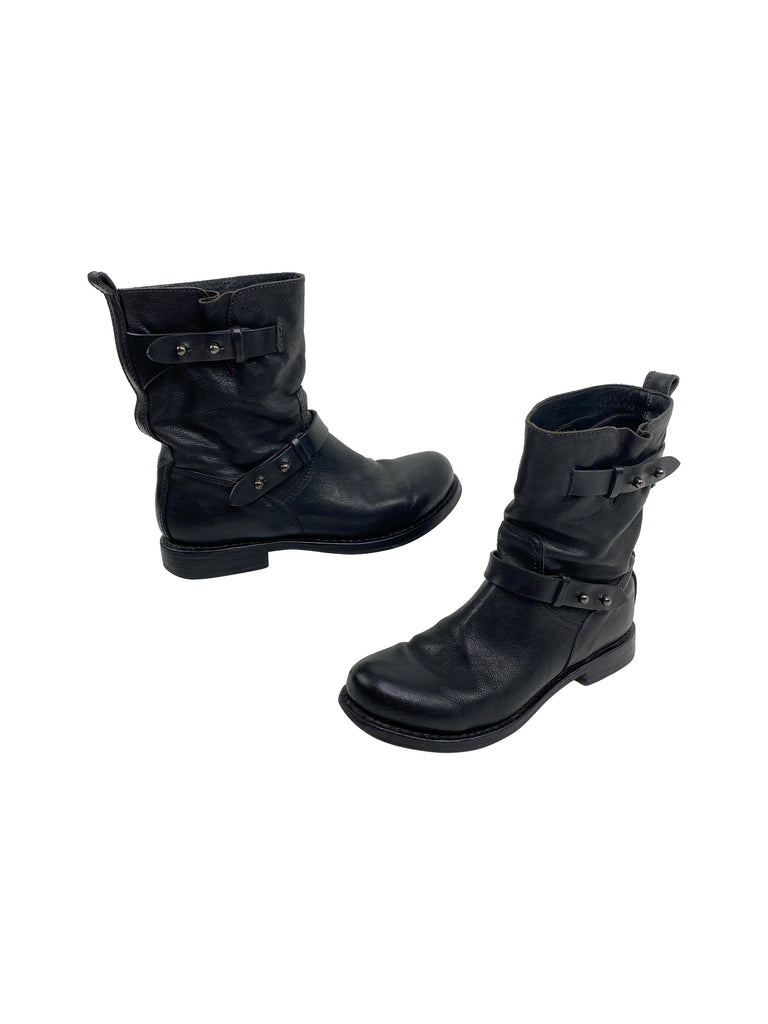 rag & bone boots black leather