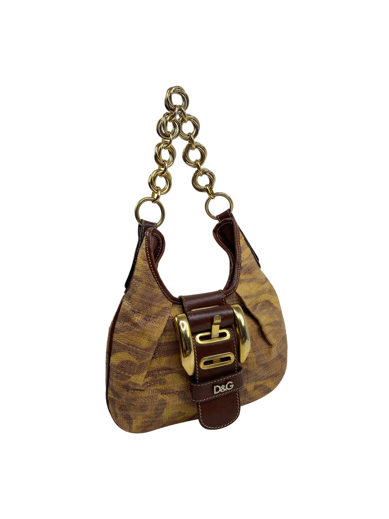 dolce & gabbana handbag shoulder chain hobo