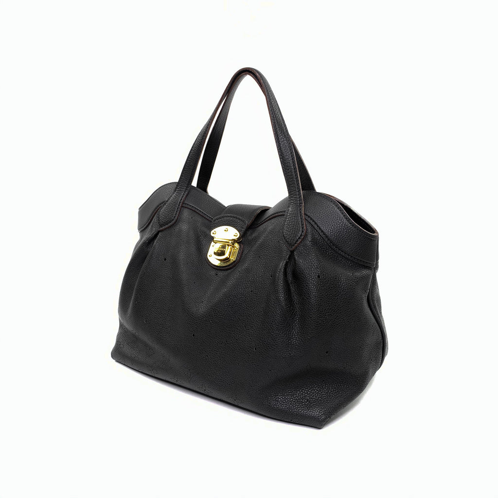 Louis Vuitton marina cirrus handbag satchel black
