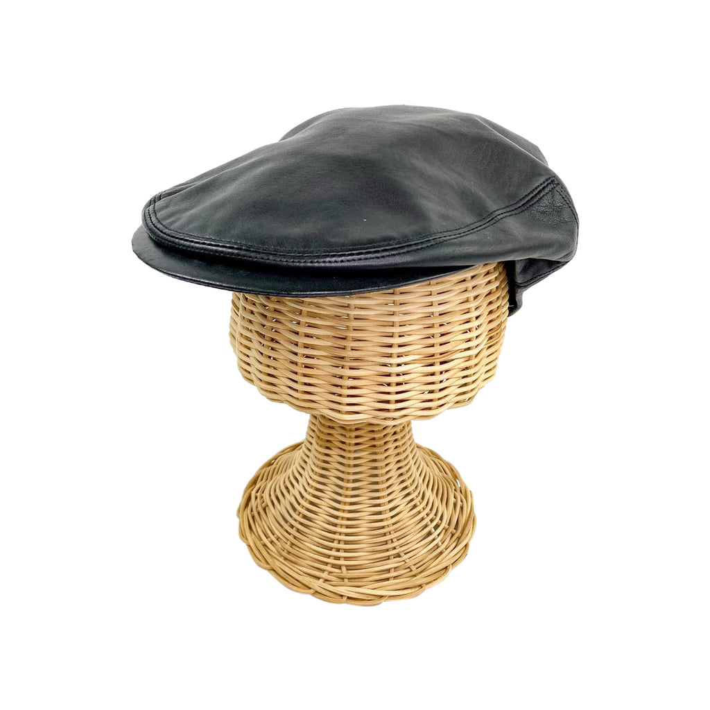 Hermes leather cap kitsch