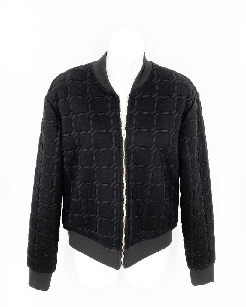 Alexander wang cropped bomber black