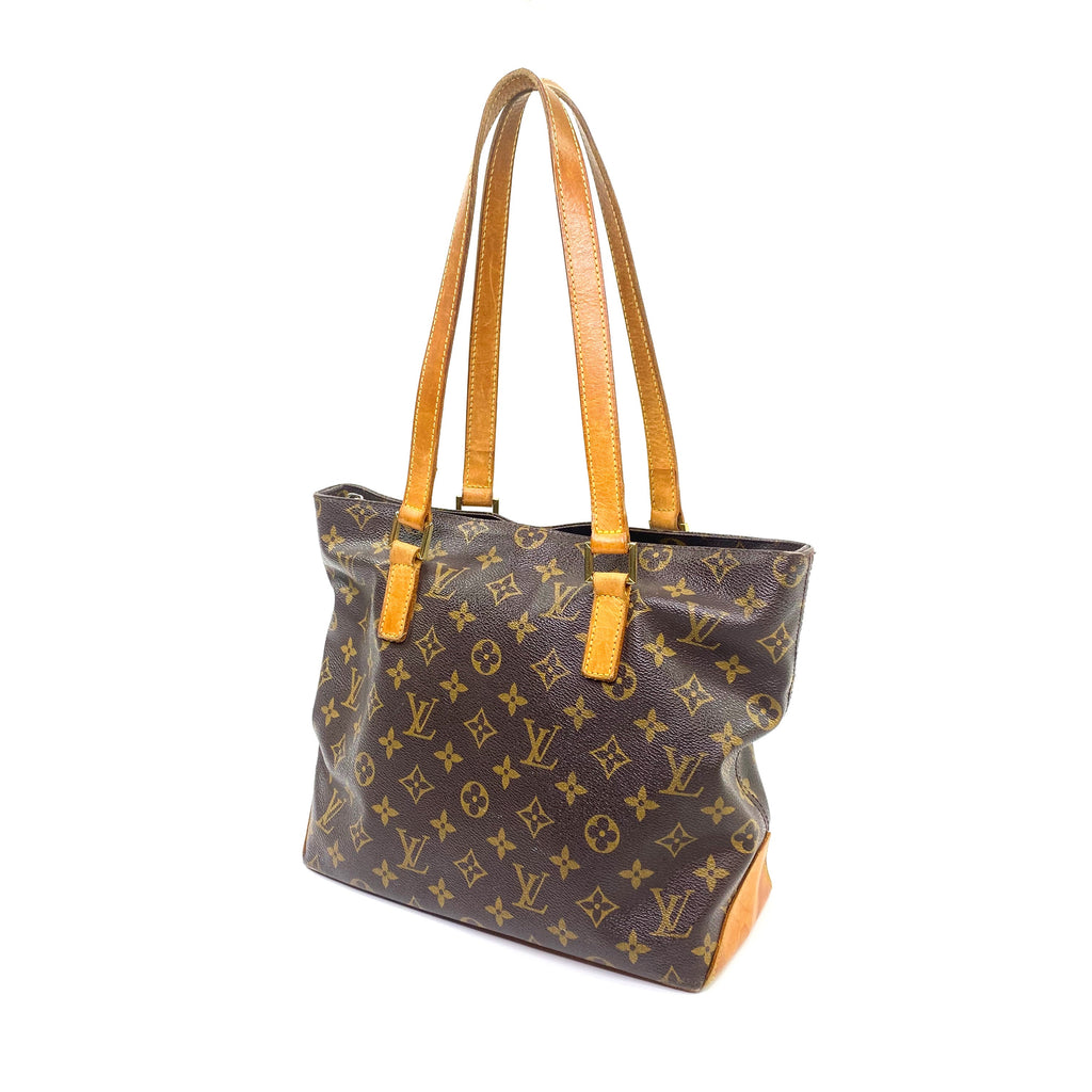 Louis Vuitton cabas monogram piano tote