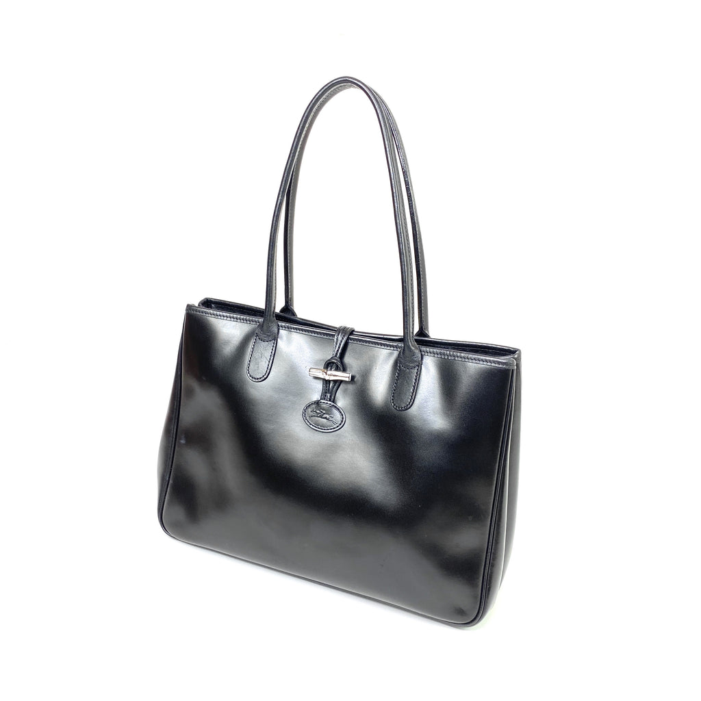 longchamp handbag roseau leather toggle