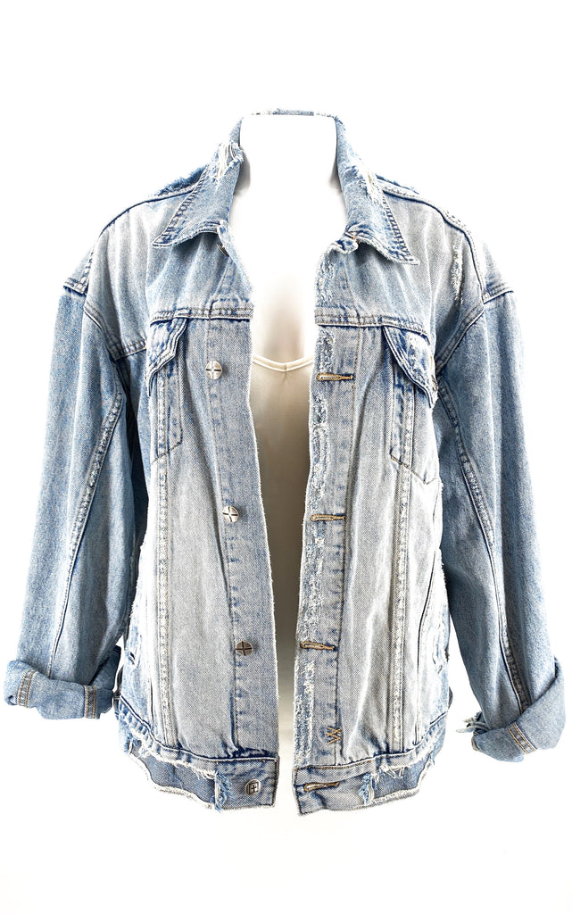 KSUBI denim jacket oversized