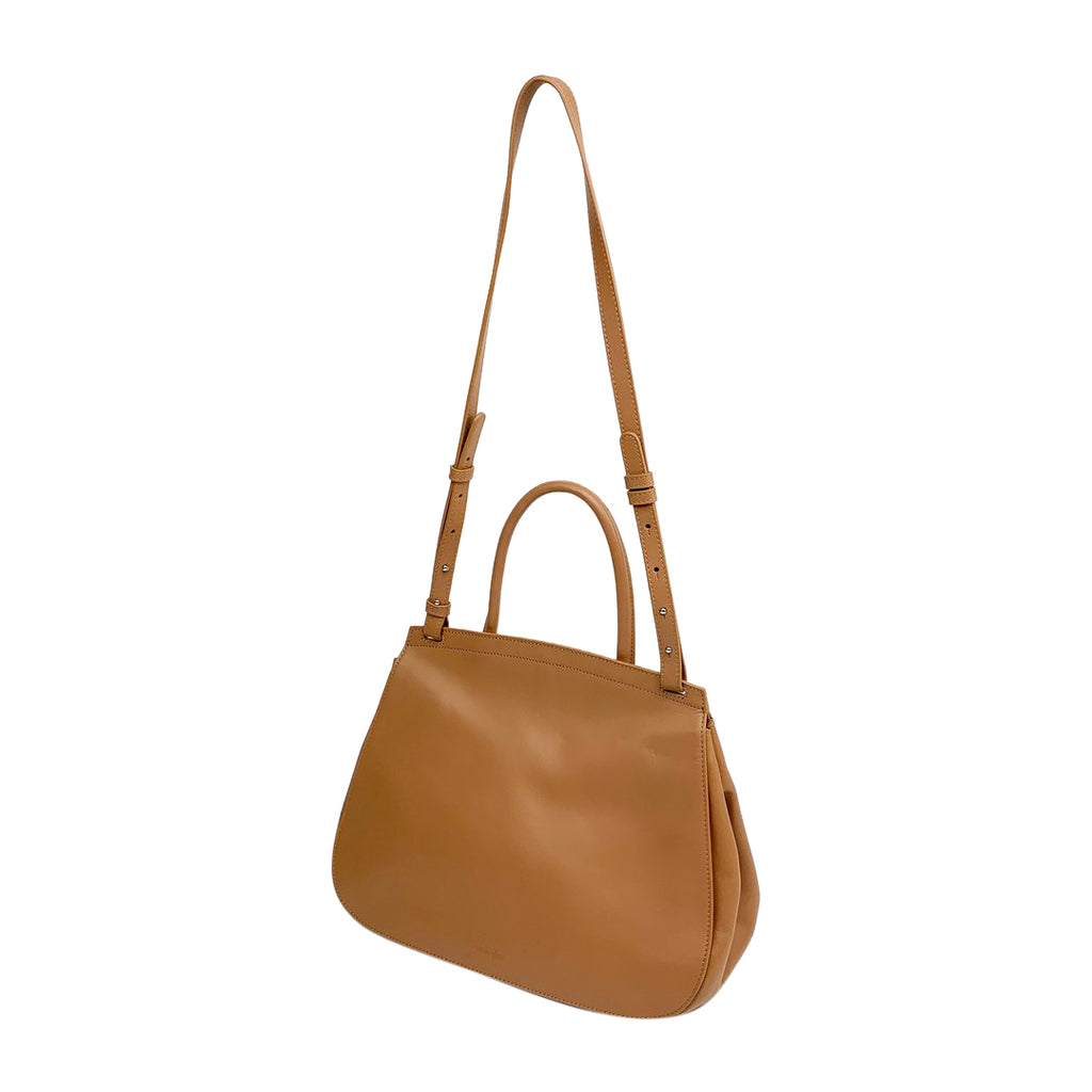 Steven Alan top handle saddle bag beige