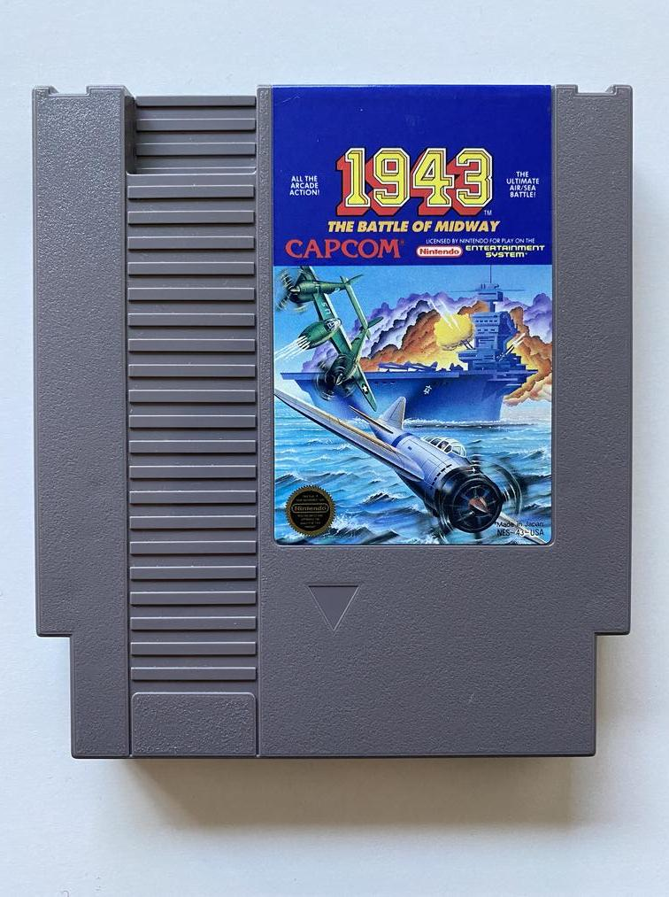 1943 The Battle of Midway Nintendo NES