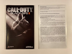 Call of Duty Black Ops II Steelbook Edition No Game
