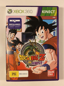 Dragon Ball Z for Kinect Microsoft Xbox 360
