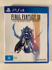 Final Fantasy XII The Zodiac Age Sony PlayStation 4