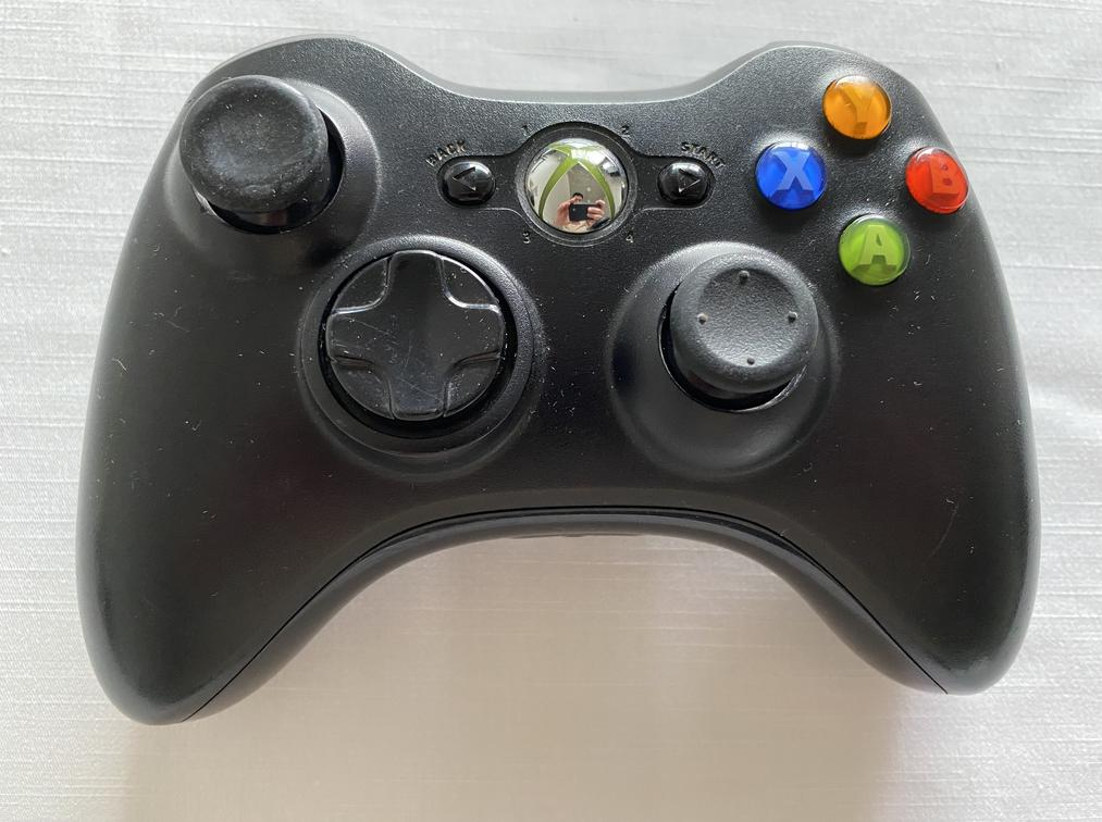 FAULTY Microsoft Xbox 360 Wireless Controller Black