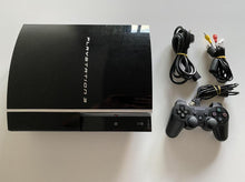 Load image into Gallery viewer, Sony PlayStation 3 PS3 Original 40GB Console Bundle Black CECHJ02
