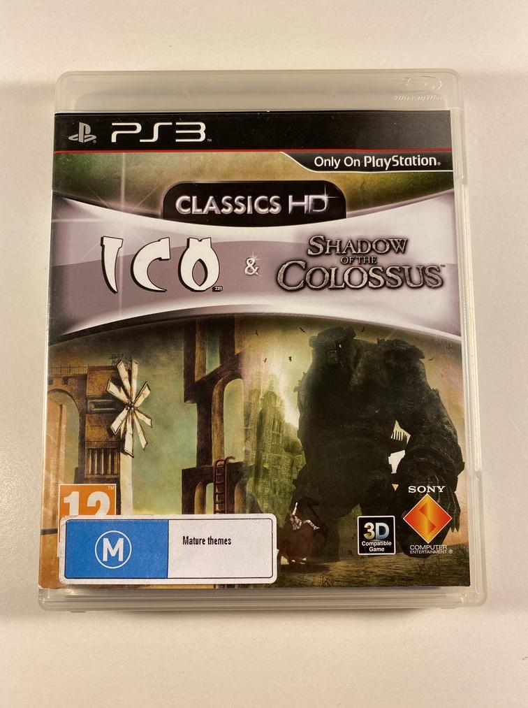 Ico And Shadow of the Colossus Collection Sony PlayStation 3