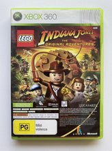 Load image into Gallery viewer, LEGO Indiana Jones The Original Adventures and Kung Fu Panda Microsoft Xbox 360