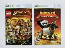 Load image into Gallery viewer, LEGO Indiana Jones The Original Adventures and Kung Fu Panda