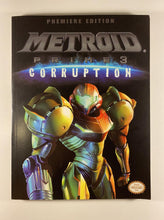Load image into Gallery viewer, Metroid Prime 3 Corruption Premiere Edition PRIMA Official Game Guide and Poster