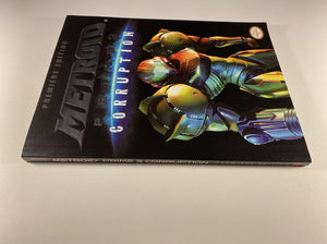 Metroid Prime 3 Corruption Premiere Edition PRIMA Official Game Guide and Poster
