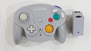 Nintendo GameCube Wavebird Controller with Receiver White DOL-004