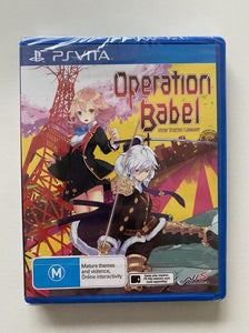 Operation Babel New Tokyo Legacy Sony PlayStation Vita