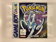 Load image into Gallery viewer, Pokemon Crystal Version Boxed