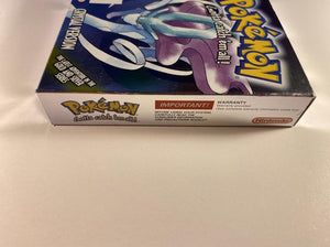 Pokemon Crystal Version Boxed